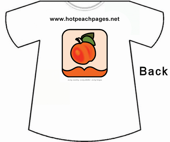 back of HPP t-shirt